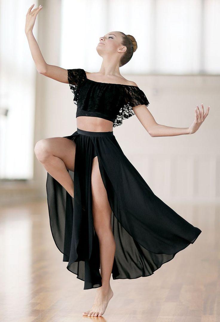 Slit Front Maxi Skirt | Balera™