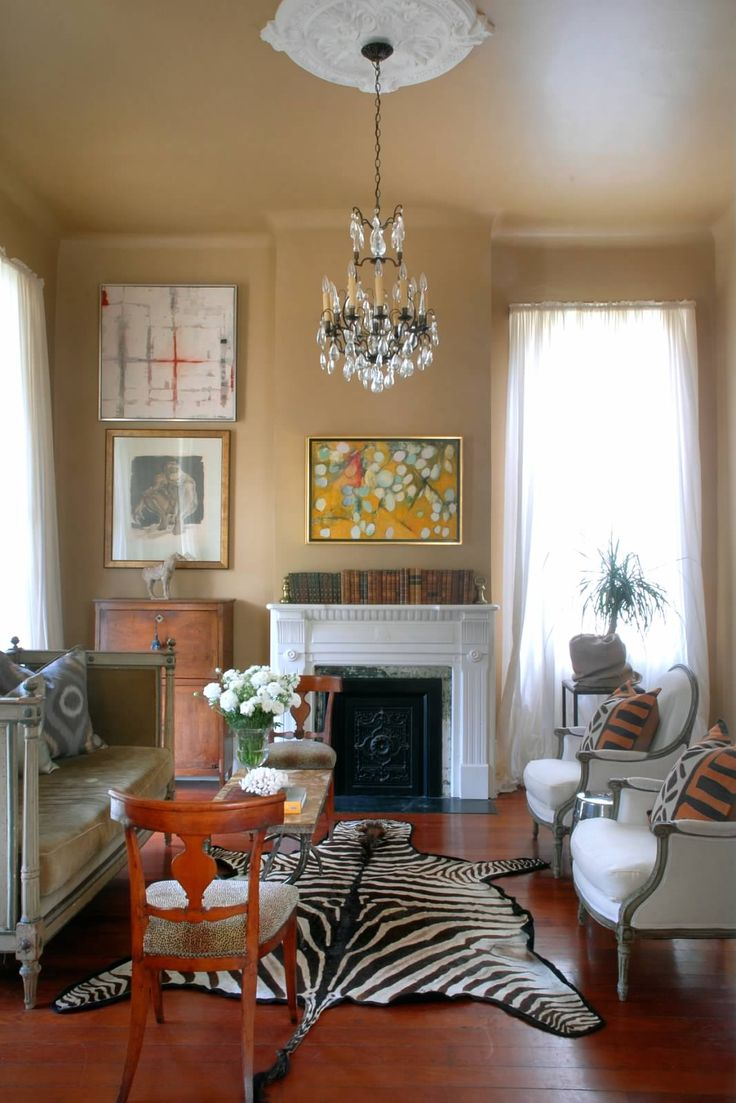 Antique modern mix new orleans home eclectic rooms for Modern new orleans homes