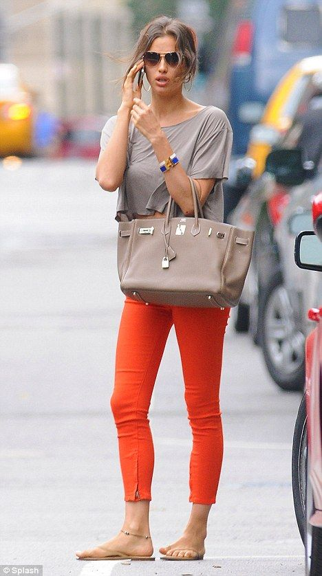 Oranje crushed: Cunning Irina's orange trouser plan worked a treat