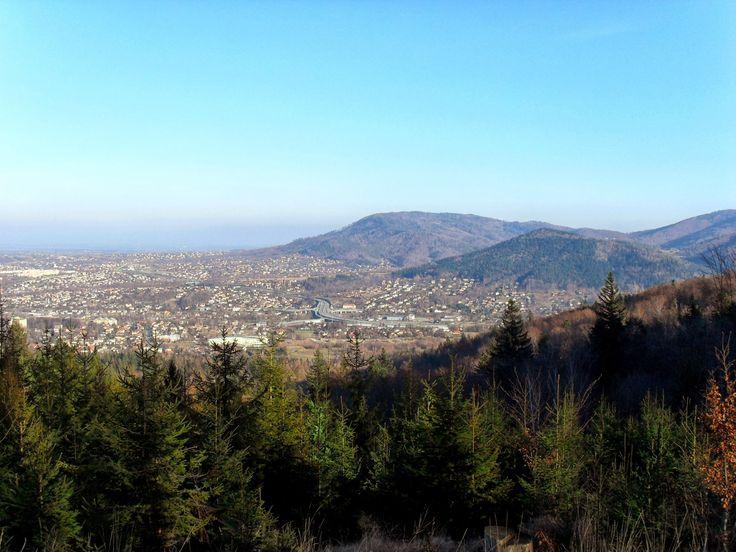 A view from Kozia Gorka in Bielsko-Biała, Poland