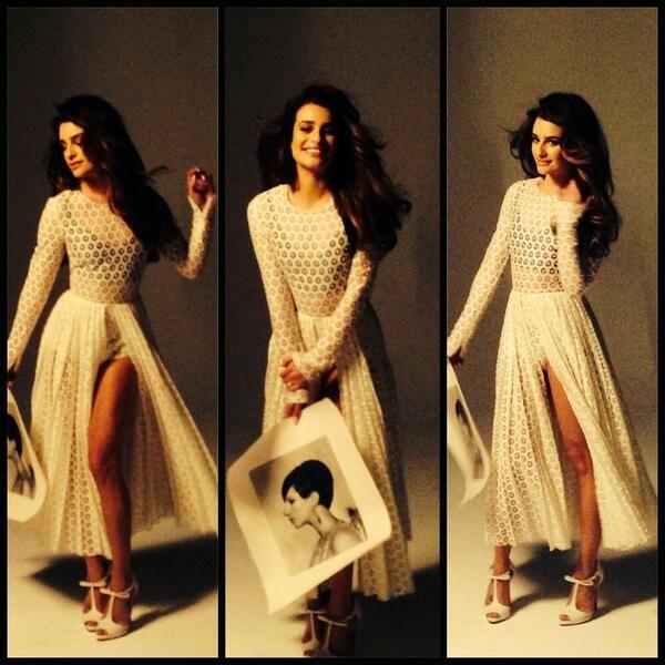 Photo Shoot for glamor magazine