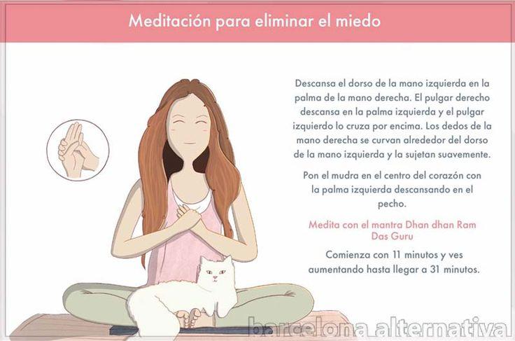 MEDITACIÓN PARA CONTROLAR LOS MIEDOS