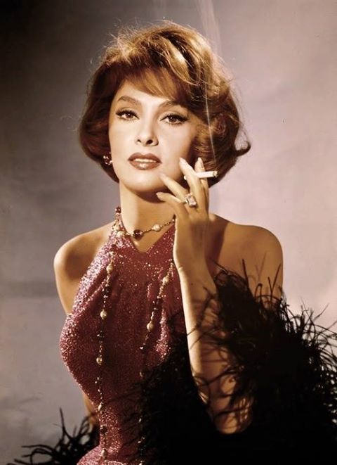 "Gina Lollobrigida -  ""Sophia Loren plays peasants. I play ladies."""
