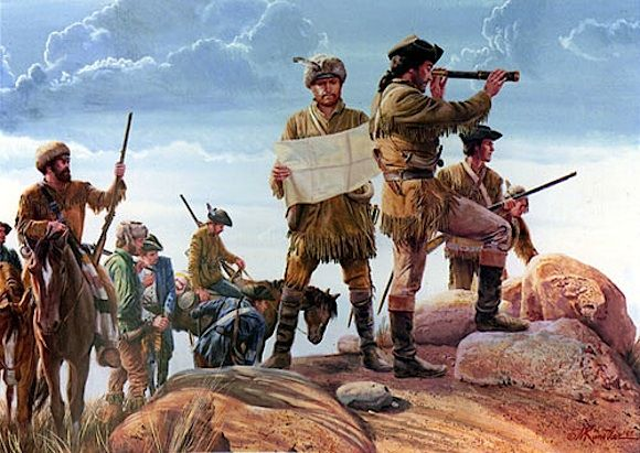 Image result for lewis and clark began to explore the louisiana territory in 1804