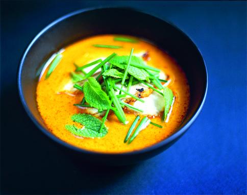 Pumpkin and ginger soup - jamie oliver