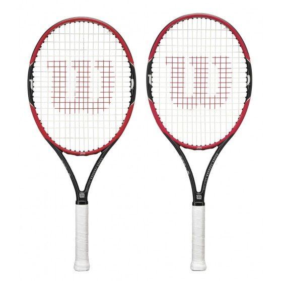 Het @wilsontennis Pro Staff RF #tennisracket is de junior versie van het racket van Roger #Federer. Gevorderde jonge tennissers die hun spel willen verbeteren kunnen met dit racket goed uit de voeten.