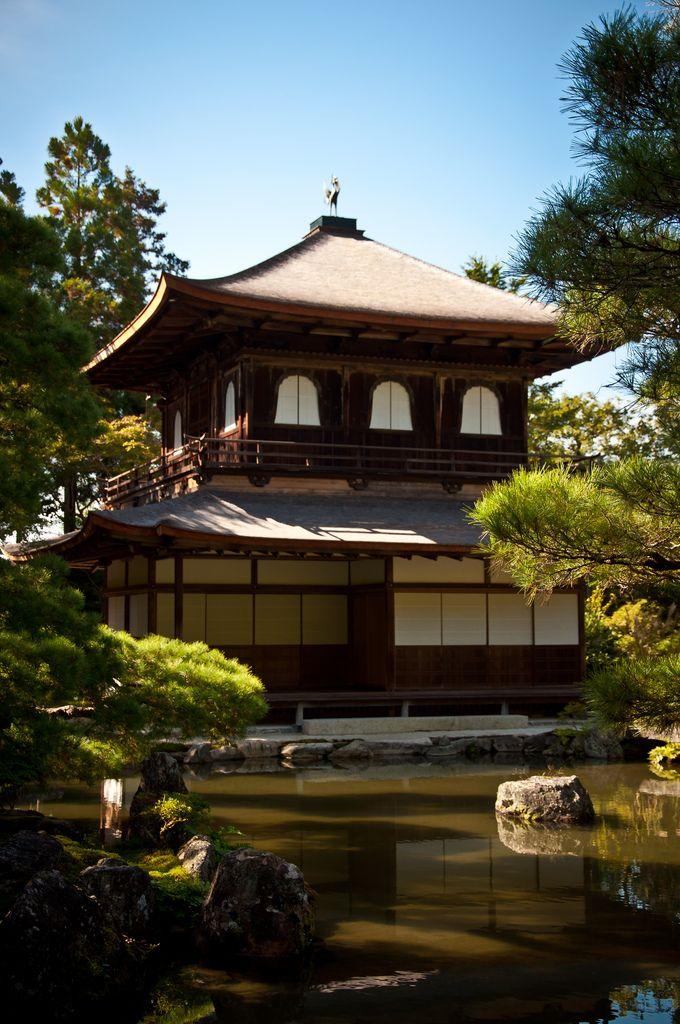 The Silver Pavillion, Ginkaku-ji, Kyoto.