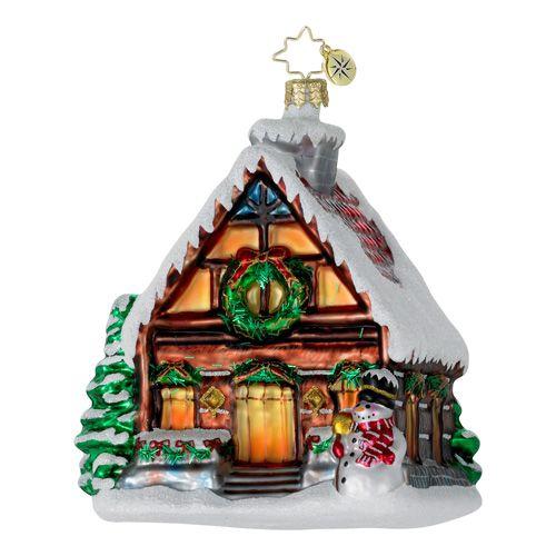 Christopher Radko Glass Ornament Christmas Pinterest