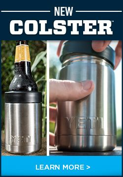Yes, we over-engineered a koozie and it's glorious. The Colster, part of our Rambler family, will be available to purchase March 1st.