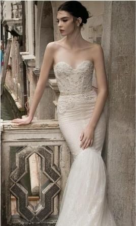 Inbal Dror 15-19 wedding dress currently for sale at 49% off retail.