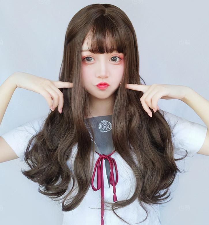 Big wave long roll wig YV40433 | Youvimi