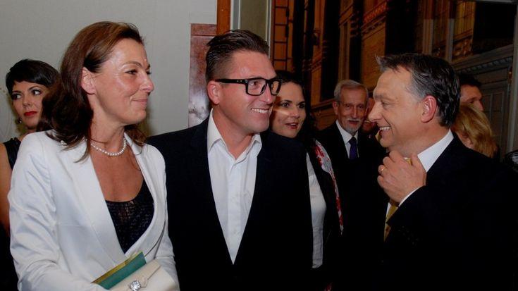 Őry Krisztina, Kovács Ákos és Orbán Viktor