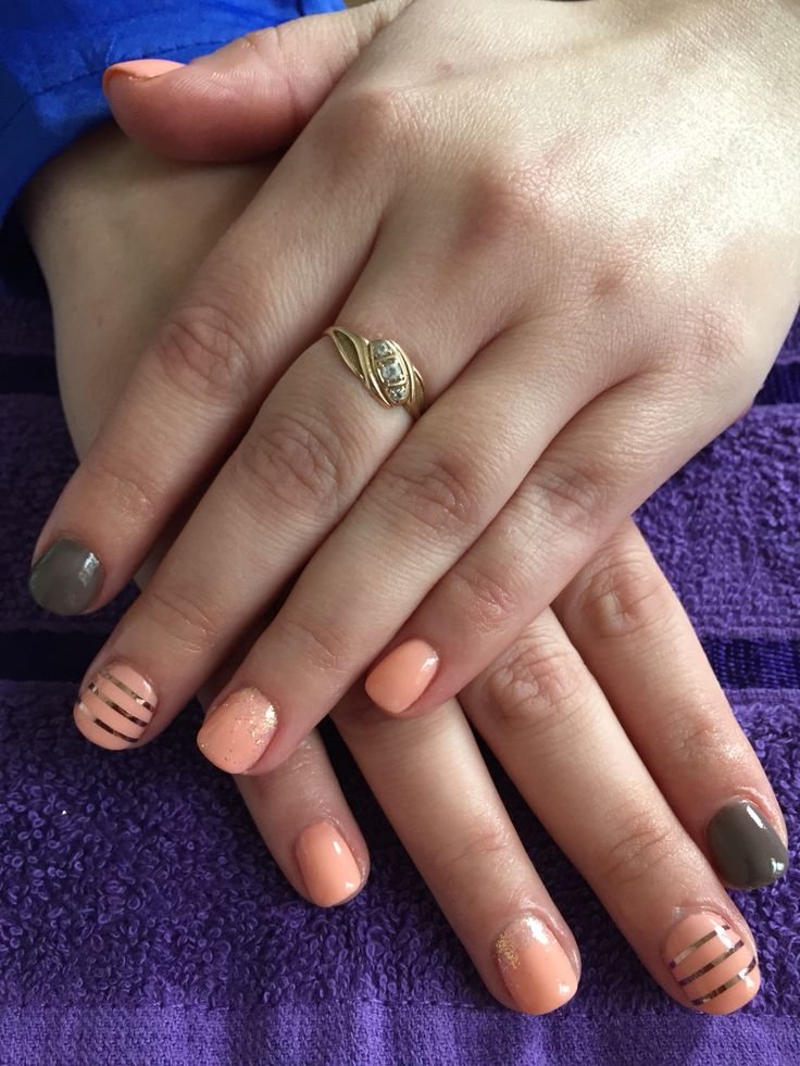 24 Shellac Nail Art Designs Ideas: 24 Best CND Shellac Nails By A Little Parlour Images On