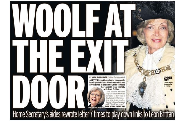 Yvette Cooper: In chaos and confusion of Fiona Woolf resignation we let the abused down - Yvette Cooper - Mirror Online