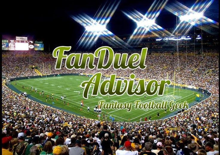 Daily Fantasy Football Strategy - Fanduel and Draftkings Advice, Promo Codes and Freerolls: The Geek's Week 12 Fanduel and Draftkings Daily Fa...