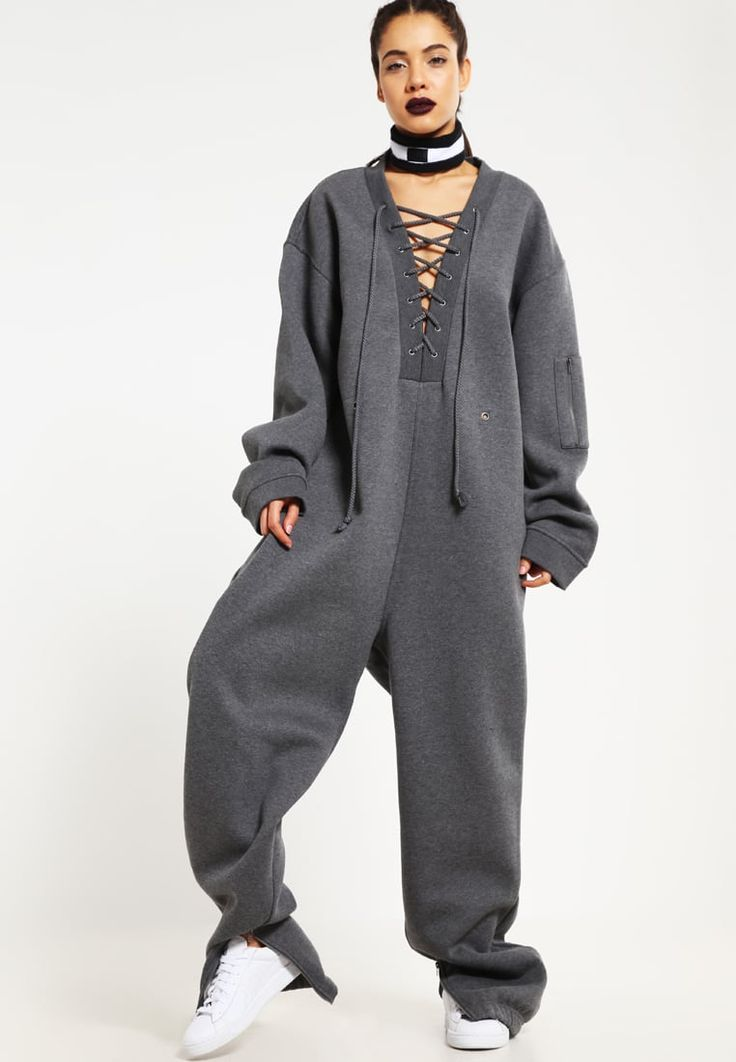 Fenty PUMA by Rihanna Jumpsuit - charcoal heather for £184.99 (06/11/16) with free delivery at Zalando