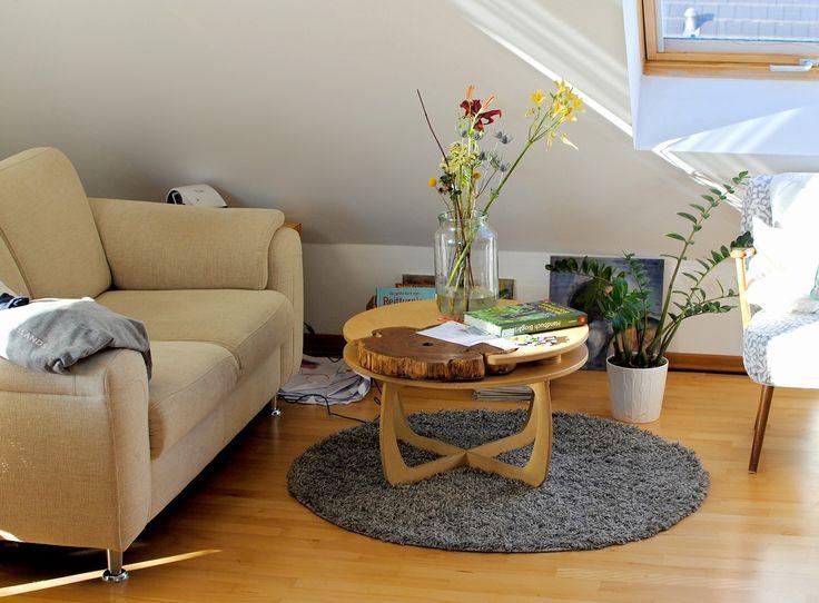 DIY Tisch Couchtisch Material 2x Tischlerplatte Baumscheibe Robinie Unterbau Abnehmbar