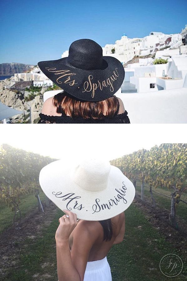 762fc99510c24 Custom Mrs Hat - Gift for Bride - Last Name Sun Hat - Bride Hat -  Personalized Floppy Beach hat - Custom floppy hat - Bride to be hat - Beach  Bride ...