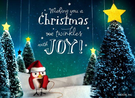 Christmas Le Postcard Ecard American Greetings