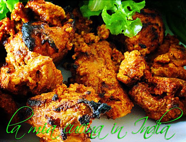 La mia cucina in India: Pollo Tandoori Masala