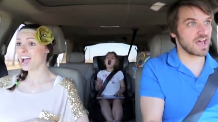 Amazing parents' perfect lip-sync to Frozen song like...it's PERFECT. This is hilarious!!!!