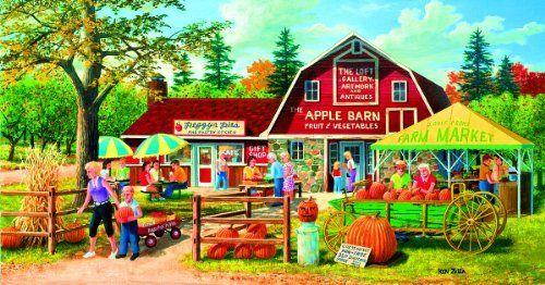 Harvest Market a 500-Piece Jigsaw Puzzle by Sunsout Inc.