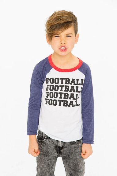 Chaser Kids Football Raglan