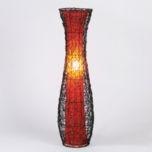 rattan floor lamp from kirklands