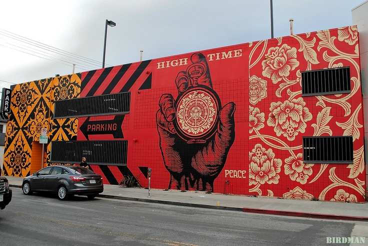 OBEY. art by shepard fairey, a fave.
