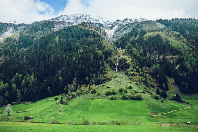 Green Alps by Krisp_Krisp on @creativemarket