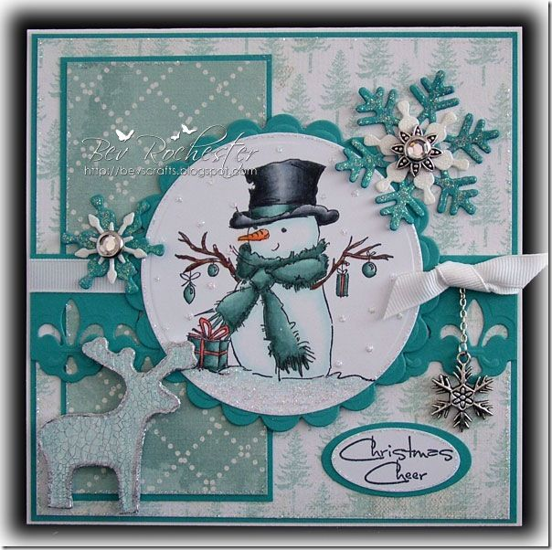 LOTV - Mr Snowman - http://www.liliofthevalley.co.uk/acatalog/Stamp_-_Mr_Snowman.html