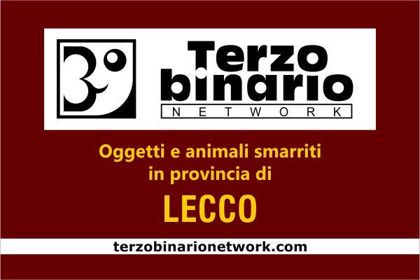 Oggetti e animali smarriti in provincia di Lecco