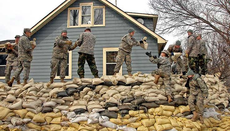 How to use Sandbags To Stop Water or Bullets. Lots of info in this article on water movement, the effectiveness of bags and what materials are best. This is a keeper!