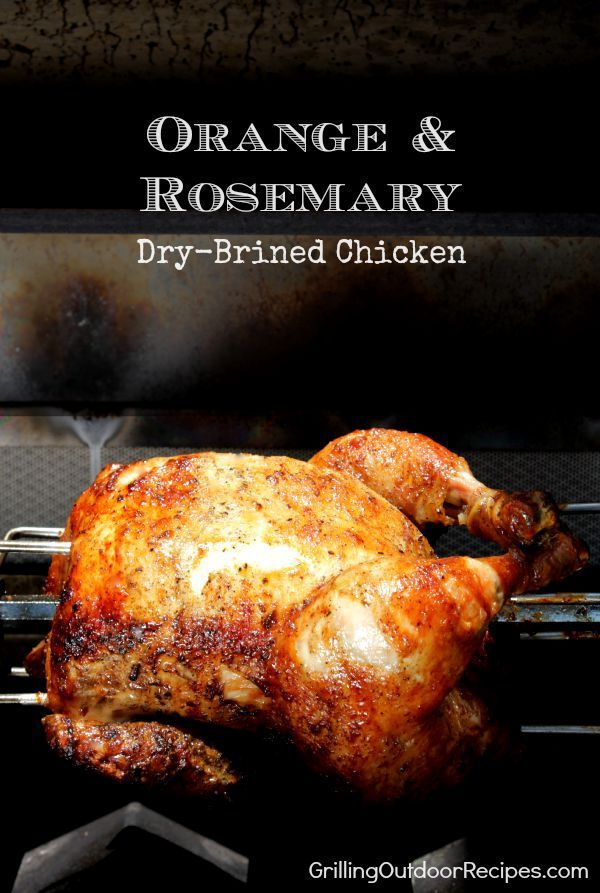 Orange & Rosemary Dry-Brined Chicken