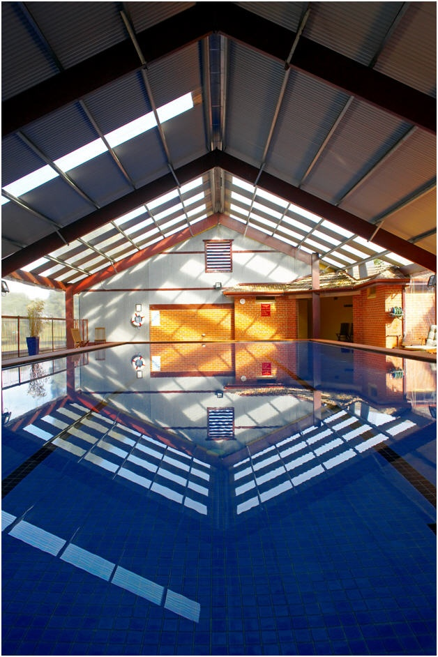 Indoor heated pool at WorldMark Resort Ballarat