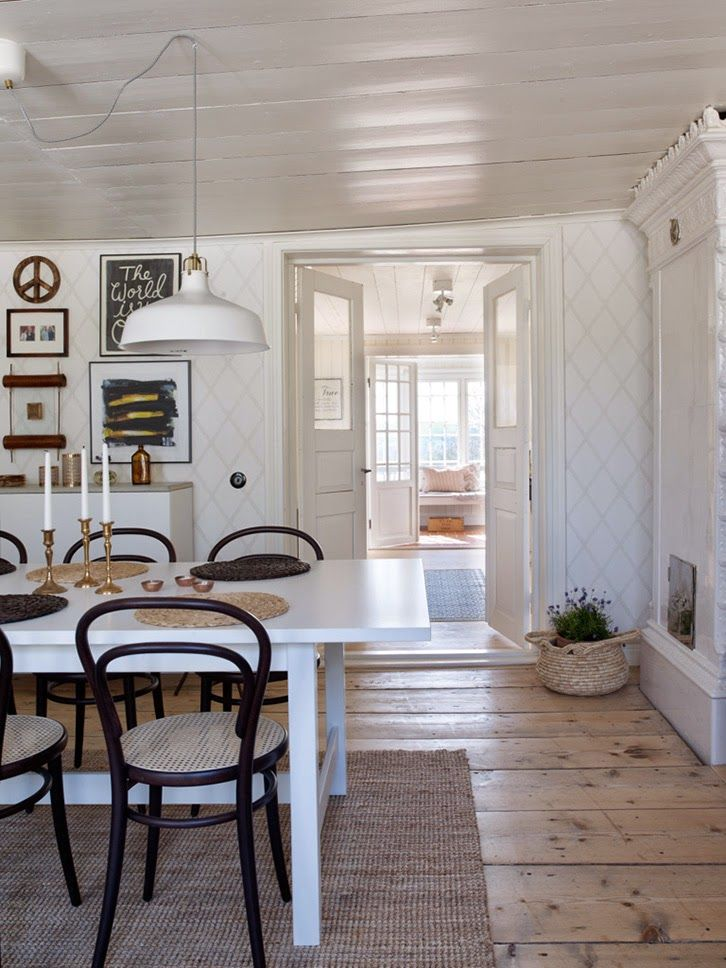 Best Nordic Country Homesinteriors Images On Pinterest - Colorful country home decorating ideas scandinavian style