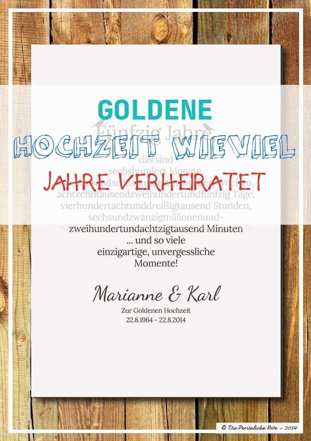 Best 15 Goldene Hochzeit Wieviel Jahre Verheiratet Di 2020