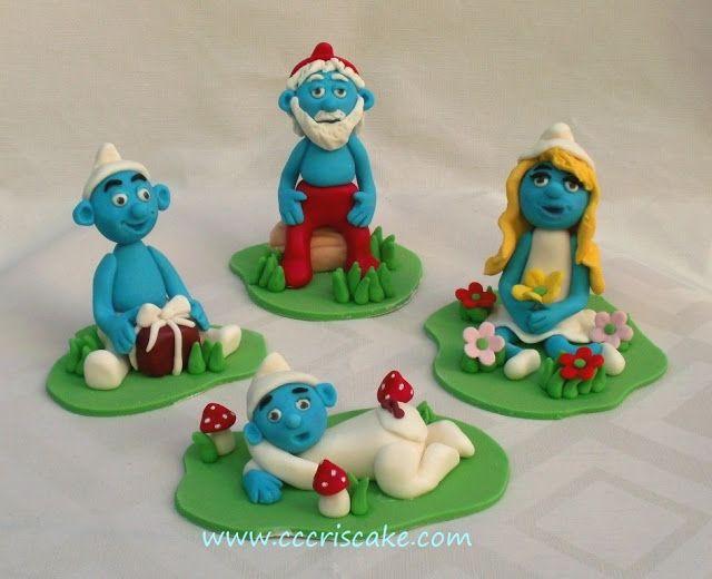 Torturi artistice: Smurfs