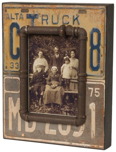 Wilco Imports Distressed Wood Licence Plate Motif Picture Frame by Wilco Imports, http://www.amazon.com/dp/B00603NDEG/ref=cm_sw_r_pi_dp_2snxqb0WXVJC2