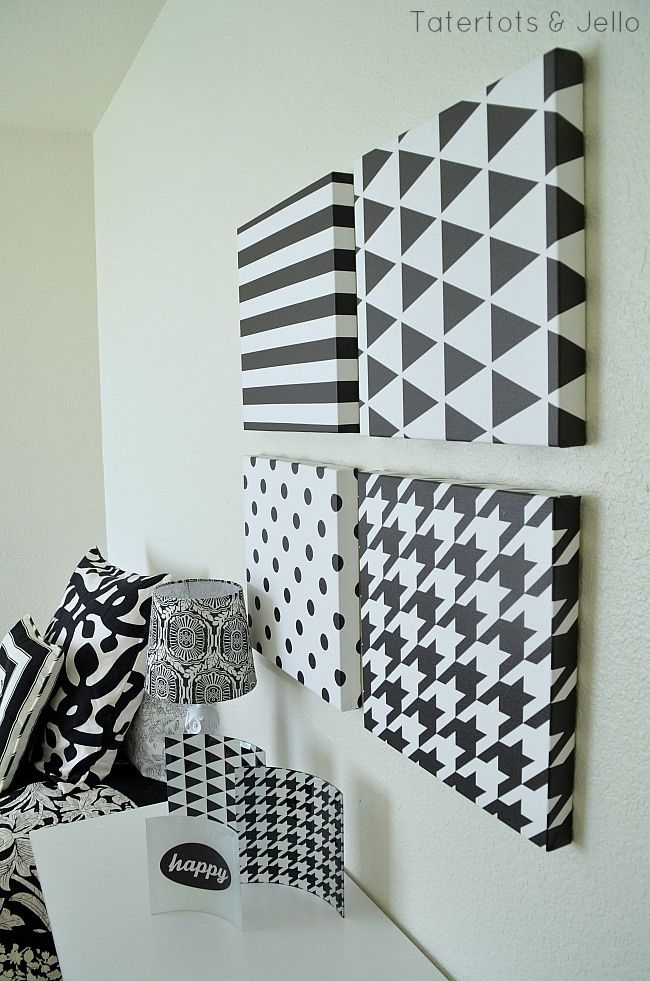 Black And White Decor Ideas And Free Graphic Printables Tatertots And Jello