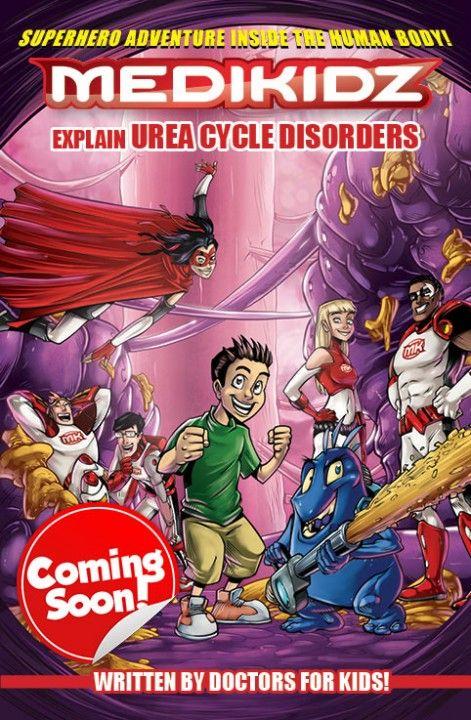 Medikidz Explain Urea Cycle Disorder cover