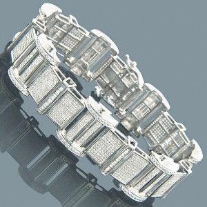 Mens Diamond bracelet