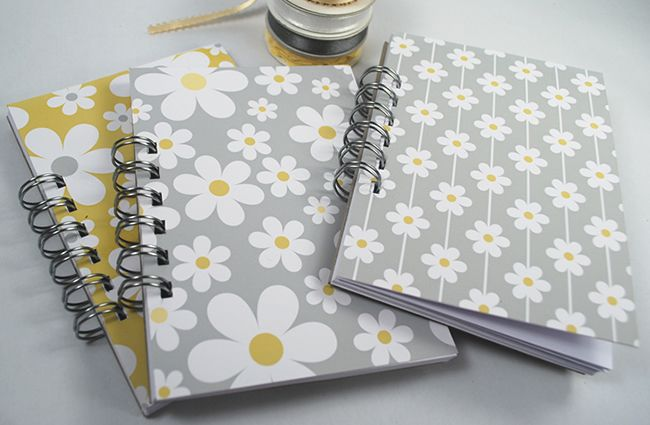 A6 'Isabelline' Daisy Notebooks