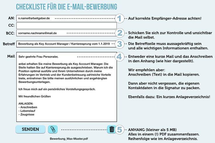 E Mail Bewerbung 10 Tipps Wie Sie Diese Schreiben Online Bewerbung Bewerbung Bewerbung Lebenslauf Vorlage