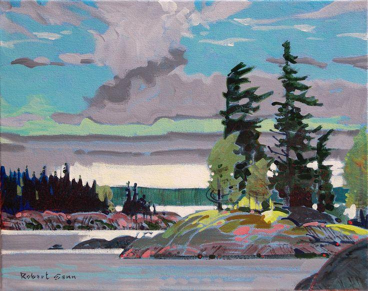 Robert Genn, 'Passage, Eaglenest Lake' at Mayberry Fine Art