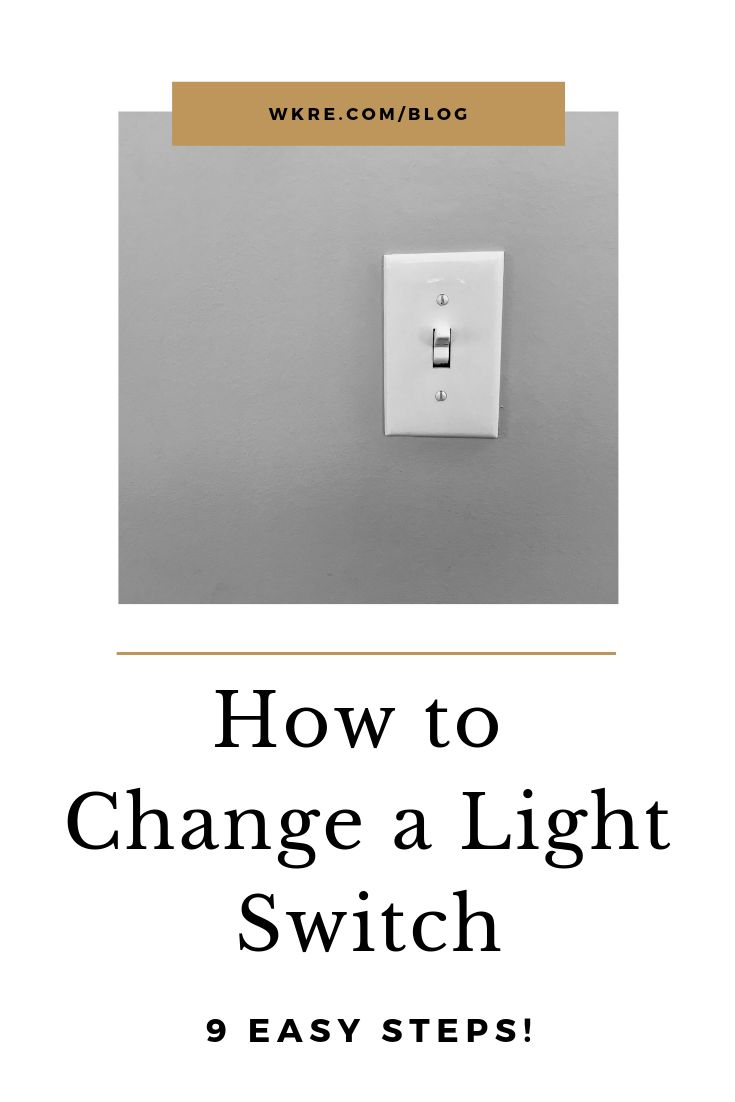 Here U0026 39 S How To Fix A Light Switch In 9 Easy Steps  Changing