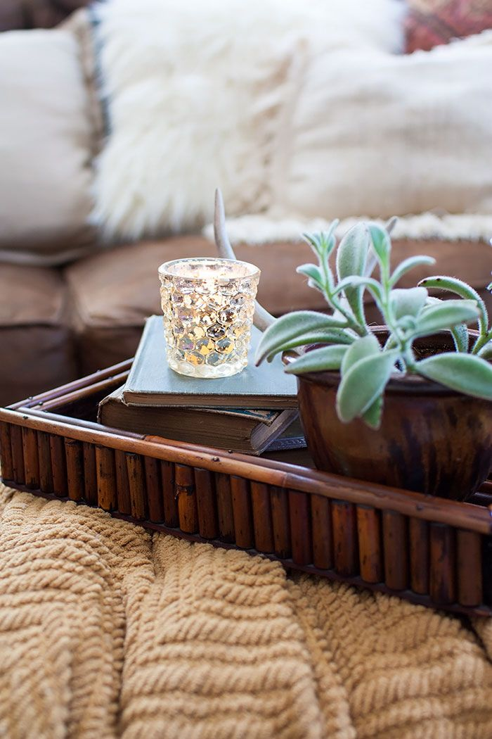 Thoughts from Alice: Styling an Ottoman Tray