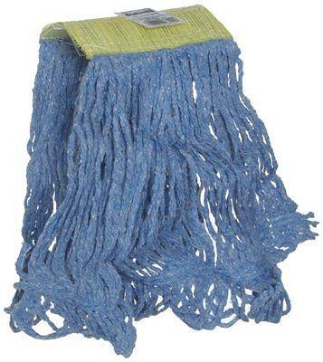 Rubbermaid Commercial Super Stitch Mop Broom Head, 5-inch Headband, Small Blue