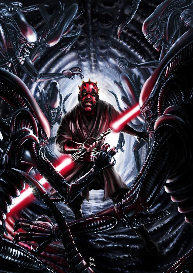 The Dark Side of the Force versus Aliens