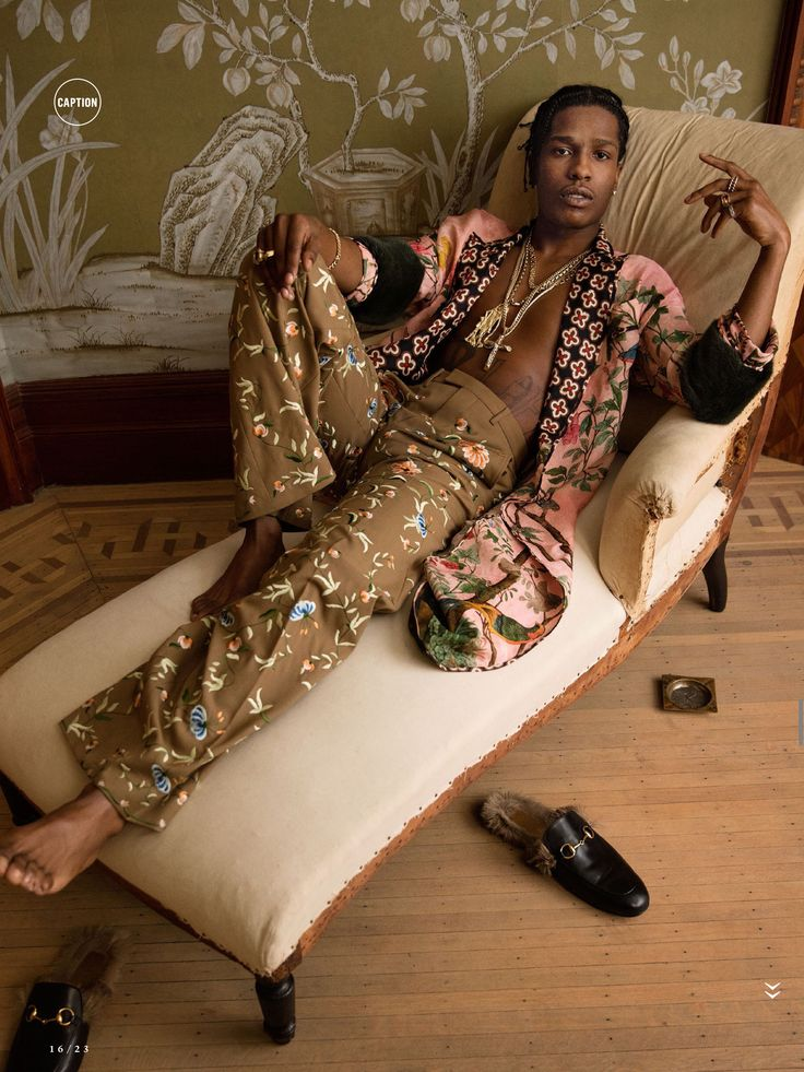 ASAP Rocky in Vanity Fair